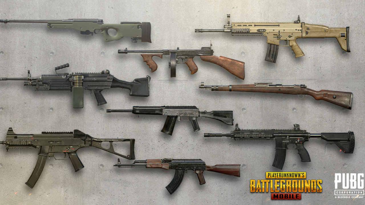سلاح های آپدیت 2020