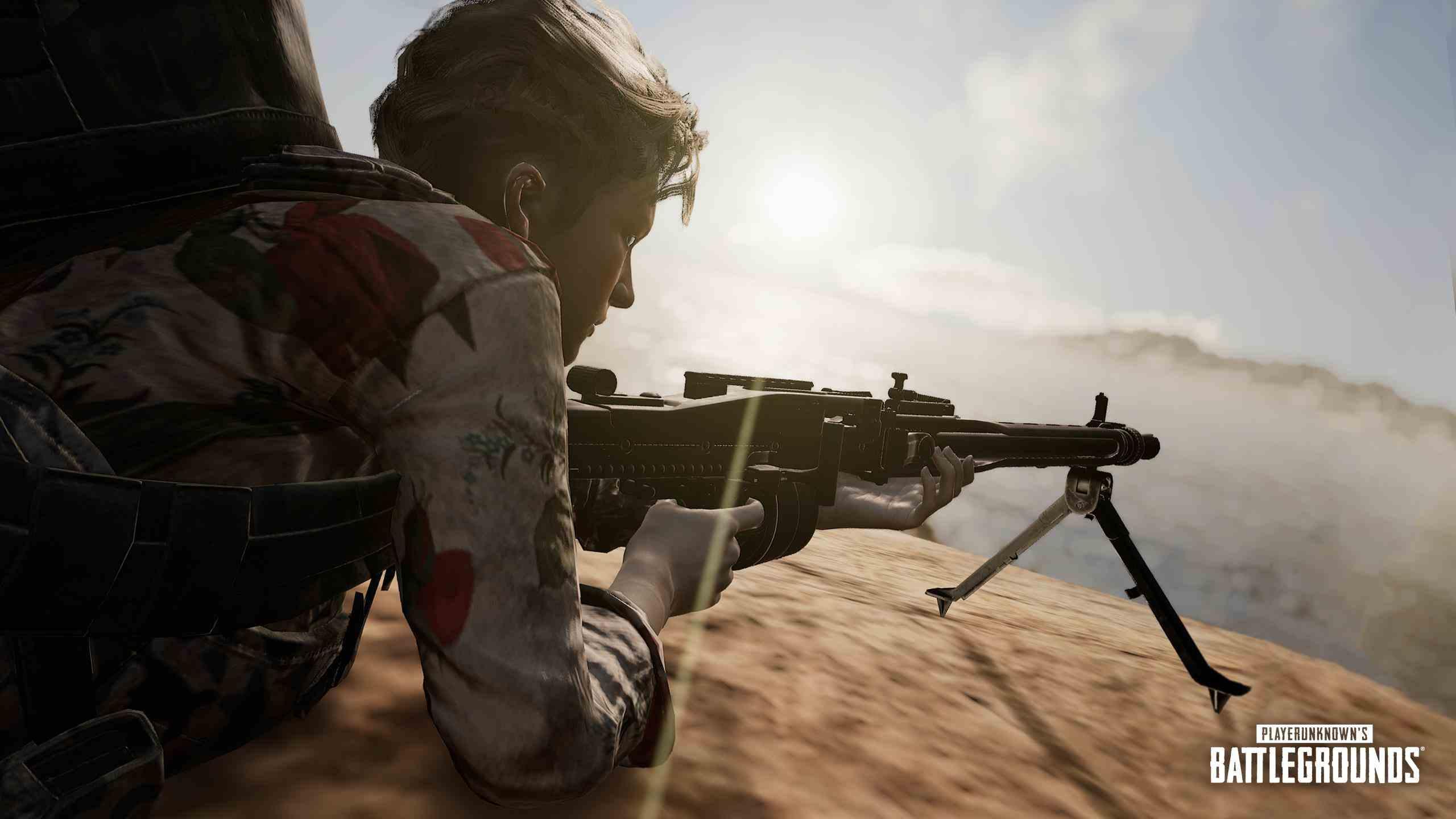 بررسی اسلحه MG3