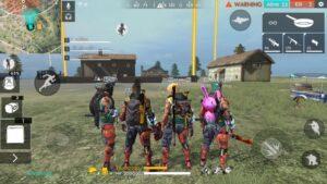 Squad مود بازی فری فایر