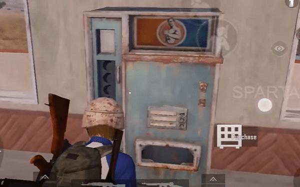 آموزش پیدا کردن vending machine بازی پابجی موبایل