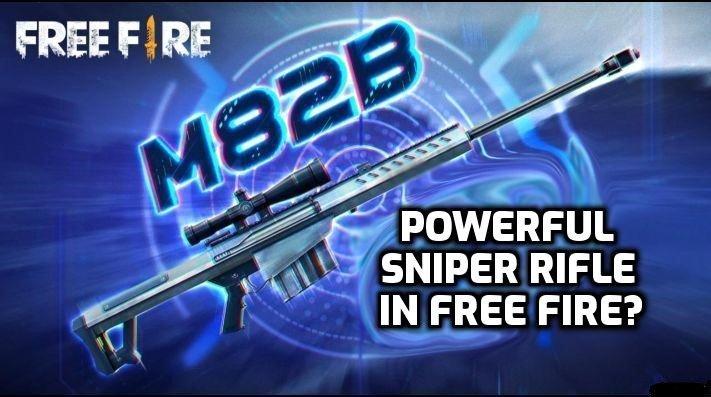 اسلحه جدید M82B در بازی فری فایر