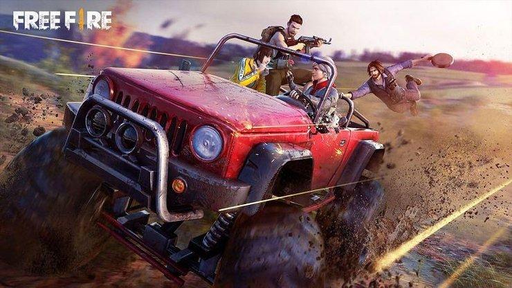 mosnster truck در بازی فری فایر