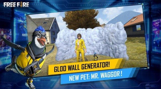 استفاده از دیوار gloo بازی فری فایر