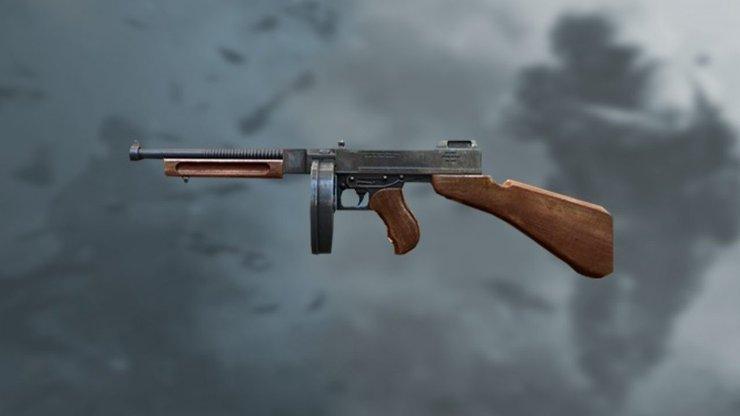 اسکین اسلحه تامپسون بازی فری فایر