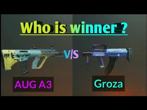 اسلحه ی AUG A3 و Groza
