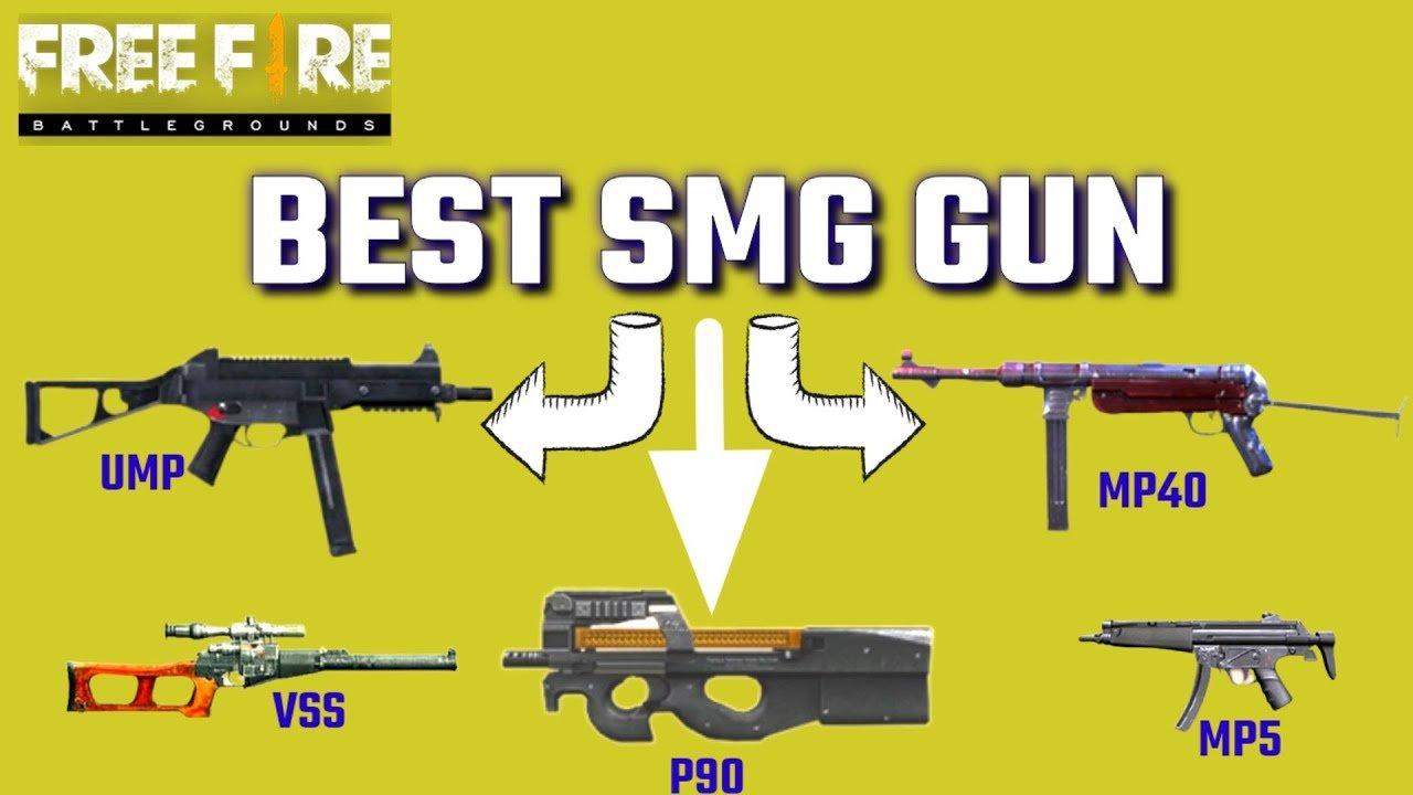 معرفی بهترین سلاح های SMG