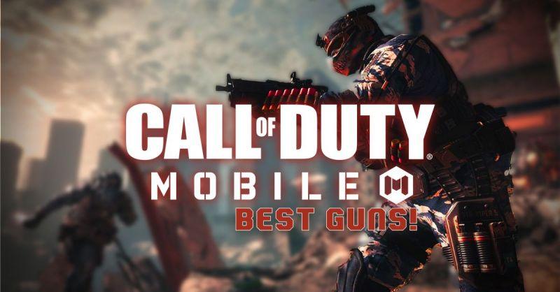 معرفی بهترین سلاح های سیزن 13 در بازی کالاف دیوتی موبایل