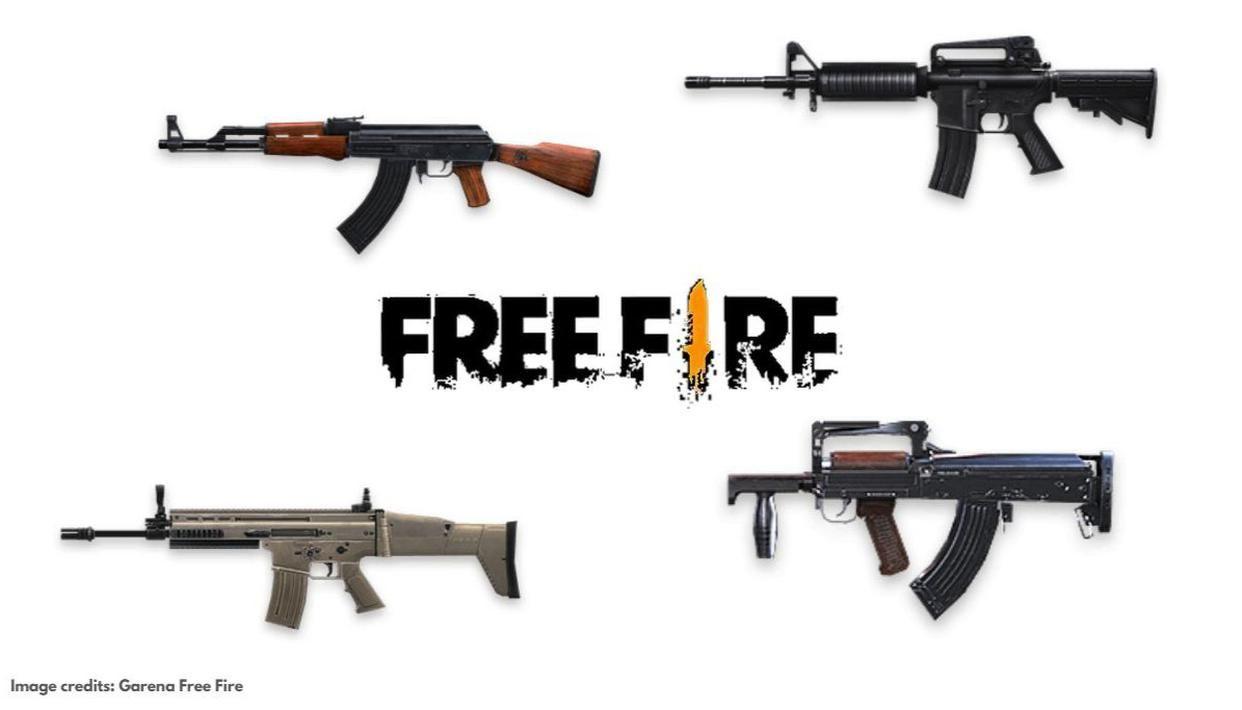 معرفی قدرتمندترین اسلحه های بازی فری فایر