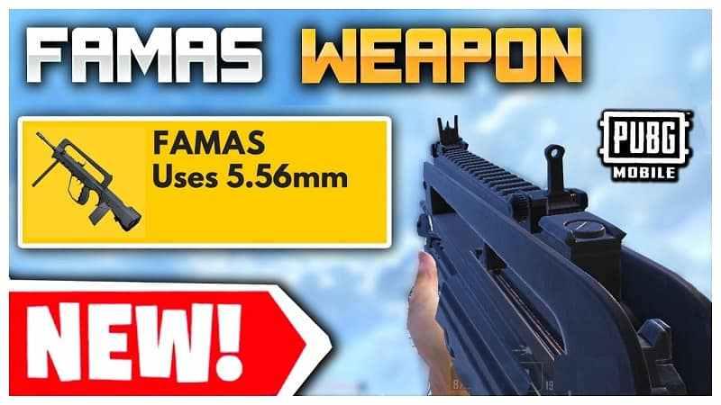 بررسی سلاح های جدید FAMAS و M416 در بازی پابجی موبایل