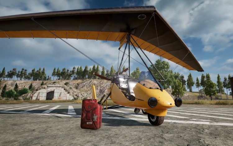 همه چیز درباره وسیله نقلیه motor glider در بازی پابجی موبایل