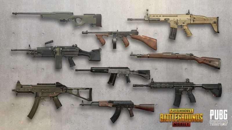 معرفی بد ترین سلاح های فصل 17 بازی پابجی موبایل