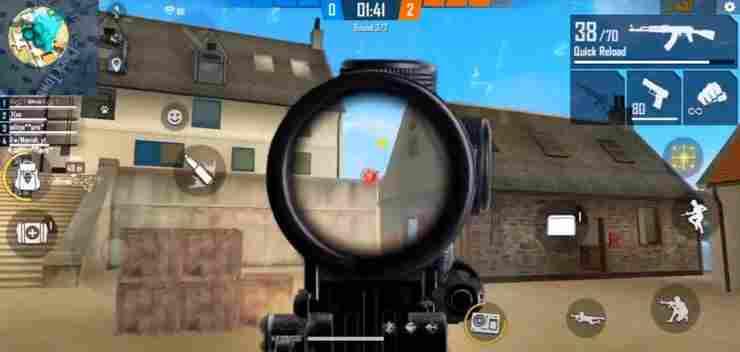 همه چیز درباره کنترل حرفه ای recoil اسلحه در بازی فری فایر