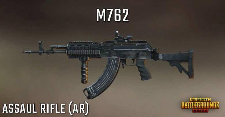 راهنمای کامل استفاده از اسلحه M762 بازی پابجی موبایل