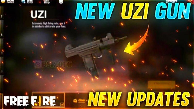 همه چیز درباره اسلحه UZI در بازی فری فایر