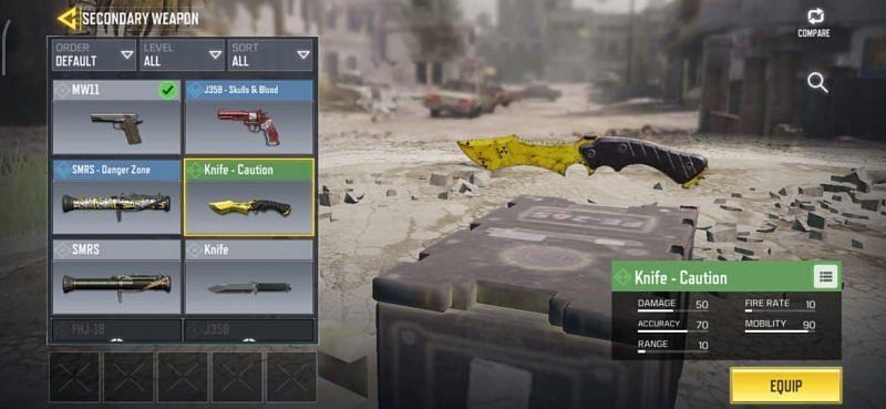 معرفی کامل اسلحه های Melee در بازی کالاف دیوتی موبایل