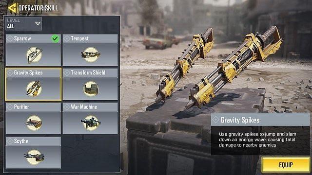 همه چیز درباره Gravity Spikes در بازی کالاف دیوتی موبایل